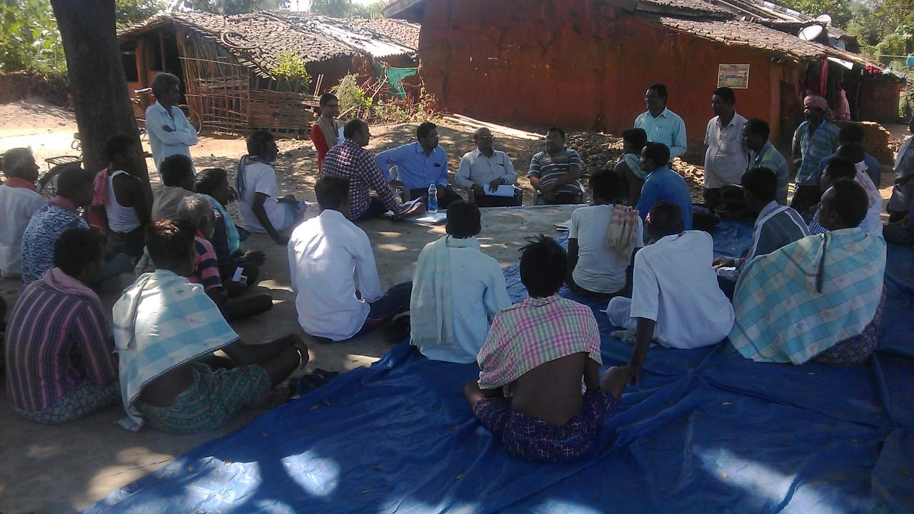 Farmer JLG meeting with State Bank of India Officials and members of the SFI Odisha Team